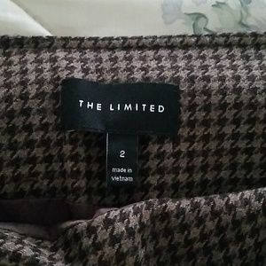 The Limited Skirts - The Limited Brown Patterned Mini Skirt